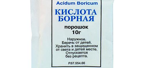 Sử dụng axit boric chống lại gián